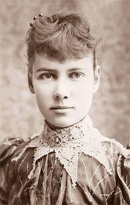 Photo of Nellie Bly.