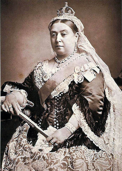 Portrait of Queen Victoria, 1882.