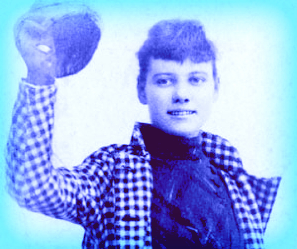 Nellie Bly, 1889.