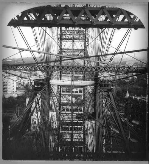 Ferris Wheel, World's Fair Chicago, 1893. Image: Library of Congress.