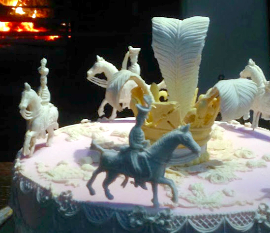 Twelfth Cake. Image: FoodHistoryJottings.Blogspot.com.