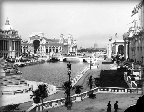 World exhibition in Chicago, 1893. Image: Wikipedia.