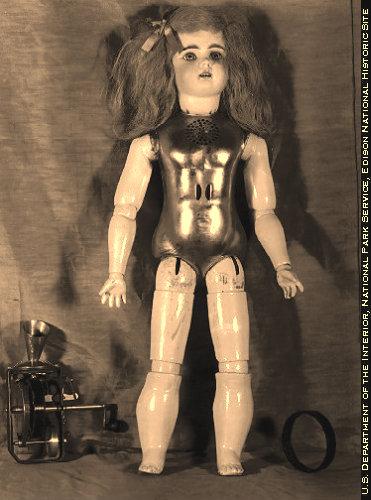 Edison's Talking Doll Undressed.