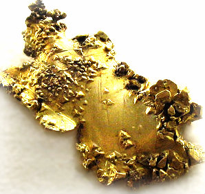 Gold nugget.