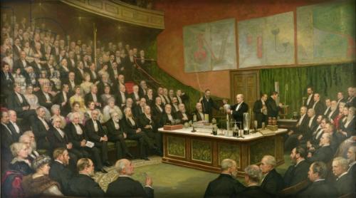 Royal Institution: Henry J. Brooks, 1904.