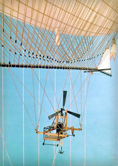 Steam-powered Airship, Giffard 1852. Photo: Astonishing Science/Spectacular Museum.