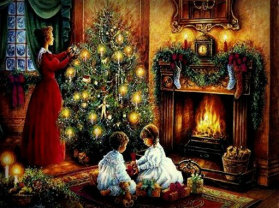 Victorian Era Christmas.