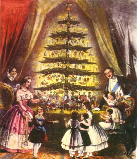 Queen Victoria and Prince Albert's Christmas Tree.
