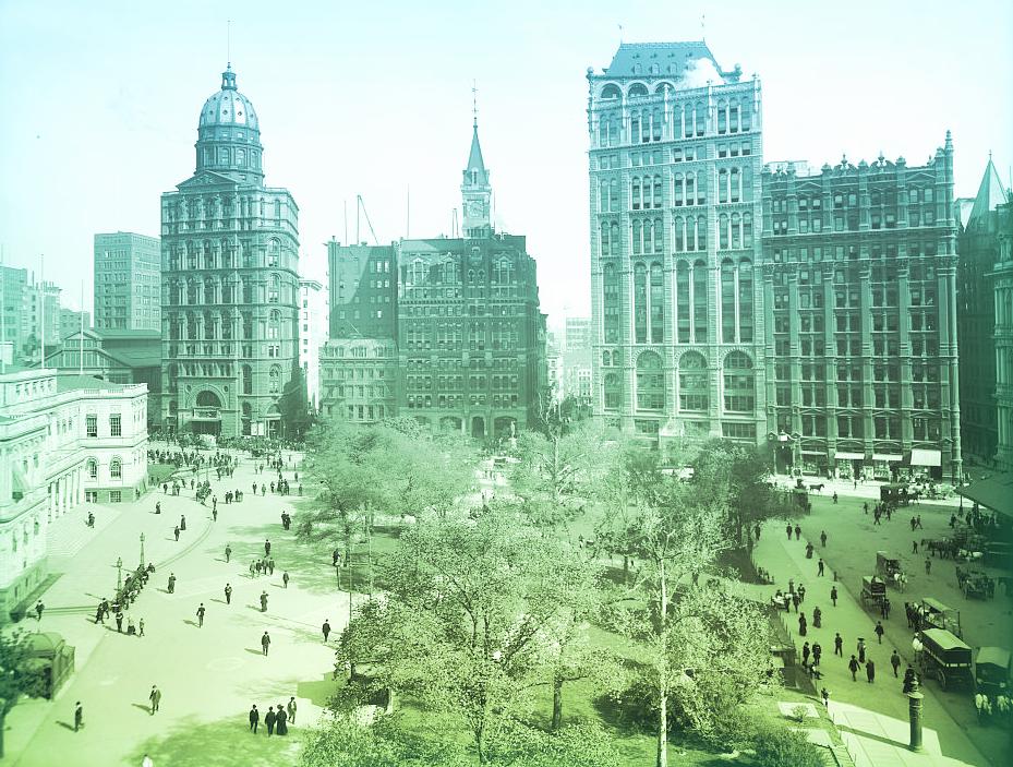 New York: Park Row, 1890s.