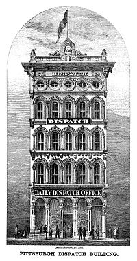 Pittsburgh Dispatch Building. Image: Wikipedia.
