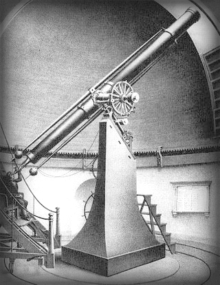 Great Refractor, Harvard College Observatory circa 1899.