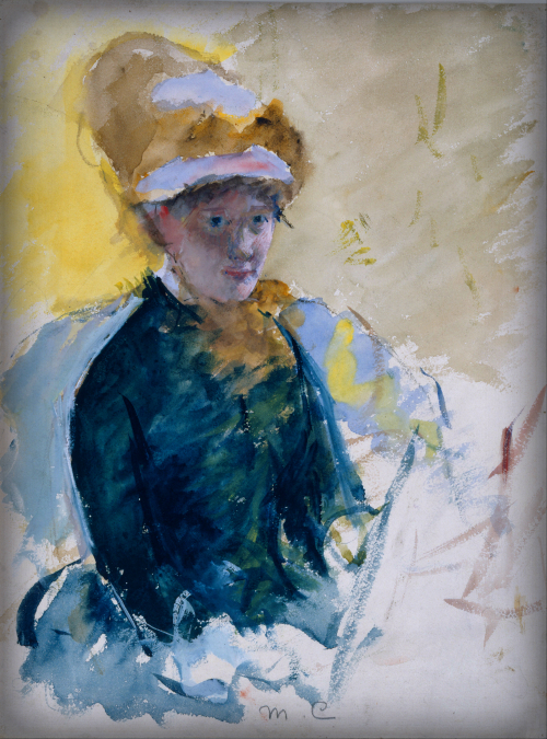 Mary Cassatt, Self Portrait, 1878. Image: Wikipedia.