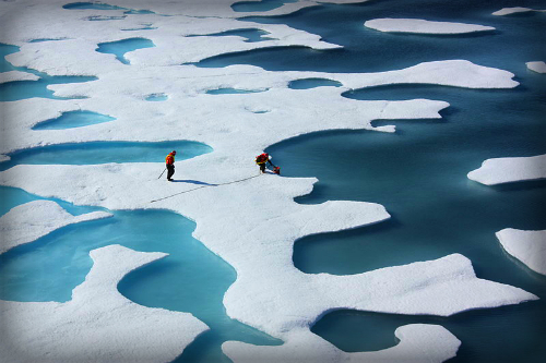 Ponds On Ocean, ICESCAPE. Image: PDTillman.