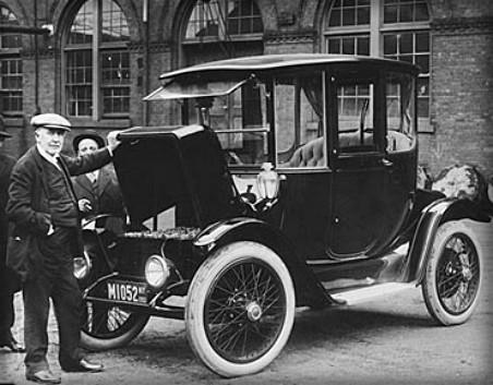 Victorian Era Electric Cars, Edison, 1913. Image: Wikipedia.