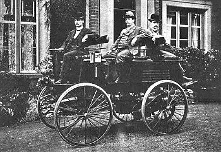 Victorian Era Electric Cars; Thomas Parker, 1895. Image: Wikipedia.