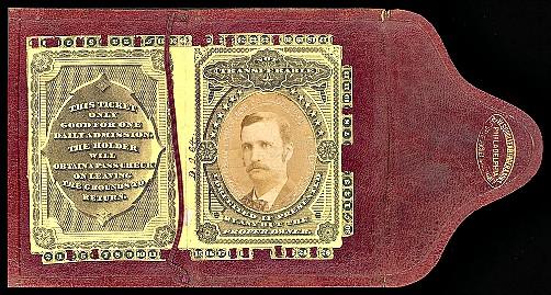 Centennial Exposition 1876, Ticket. Image: Philadelphia Free Library.