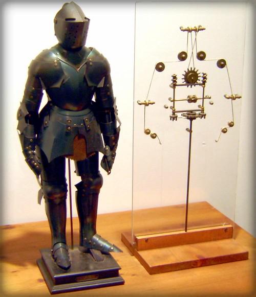 Leonardo Da Vinci Robot. Image: Erik Möller.