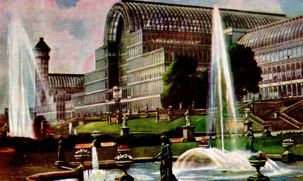 Crystal Palace Postcard.