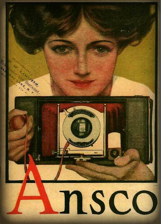Ansco Camera, 1910. Image: CraigCamera.com.