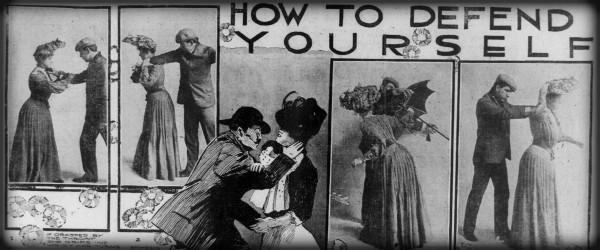 Victorian Umbrella Defense: How To Defend Yourself: San Francisco Call, August, 1904.