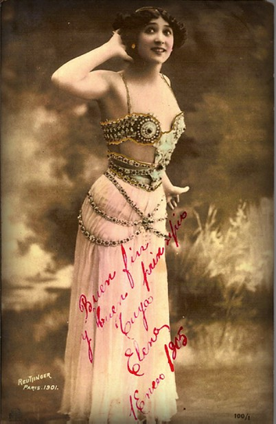La Belle Otero Image Wikipedia Racing Nellie Bly Famous Women In History