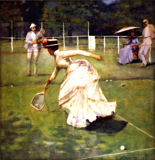 A Rally, by John Lavery, 1885. Image: Wikipedia.