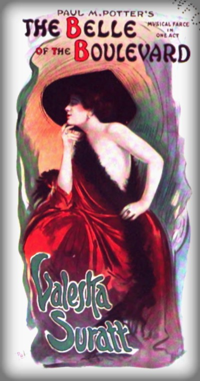 Valeska Suratt, The Belle of the Boulevard. Image: Wikipedia.