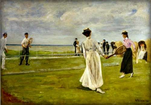Game by the Sea, 1901 by Max Liebermann. Image: Wikimedia.