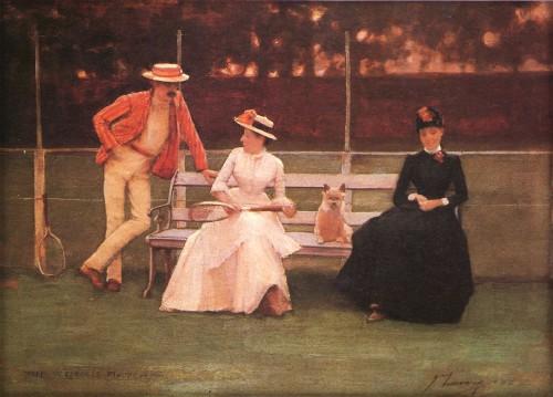 Tennis Match by Sir John Lavery. Image: Wikimedia.