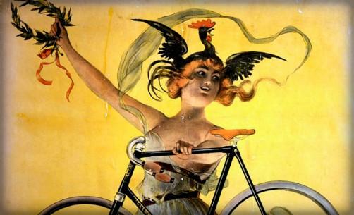 Cycles Clément Paris, 1898 by Jean de Paleologue. Image: Wikipedia.