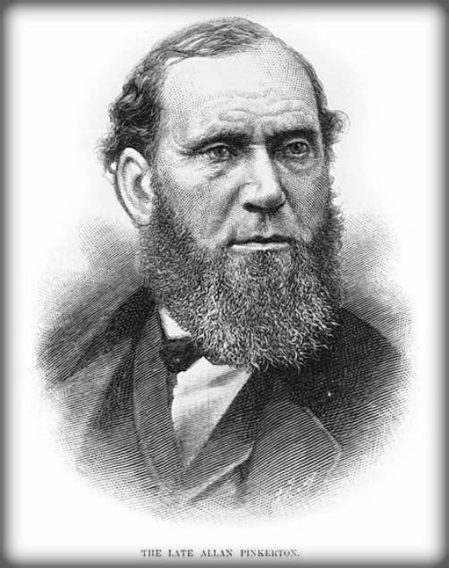 First Female Pinkerton: Allan Pinkerton. Image: Wikipedia.