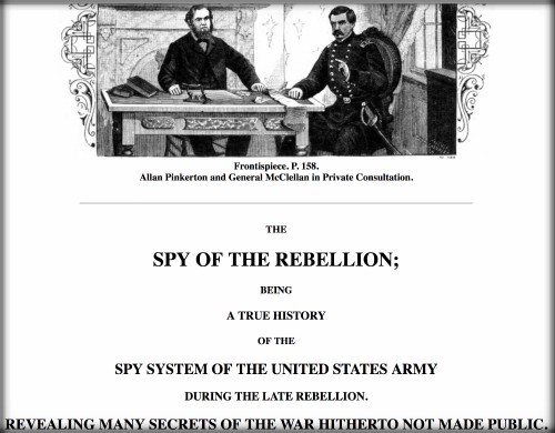 First Female Pinkerton: Spy of the Rebellion. Image: Google Books.