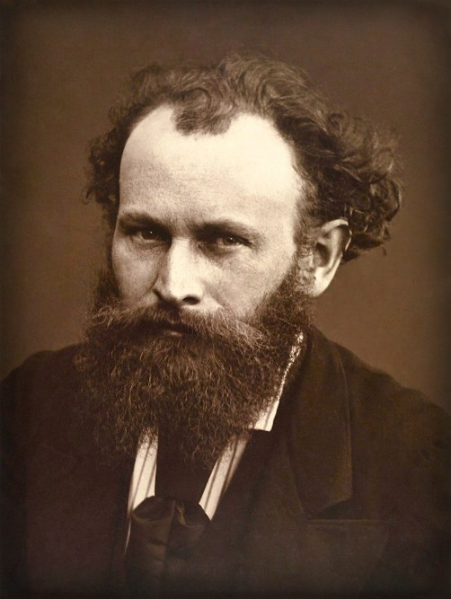 Photograph of Édouard Manet, by Nadar. Image: Wikipedia.